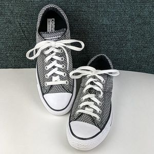 Converse Reptile Pattern Low Top Sneakers